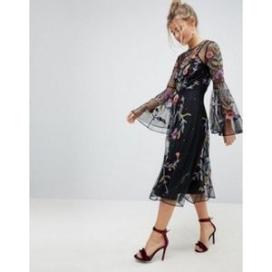 ASOS Embroided Dress